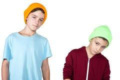 Two boys Royalty Free Stock Photo