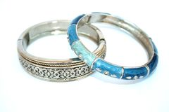 Two bracelets Royalty Free Stock Photos