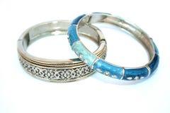 Two Bracelets Royalty Free Stock Photos