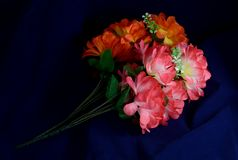 Two branches artificial flowers Stock Image