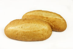 Two bread rolls Royalty Free Stock Image