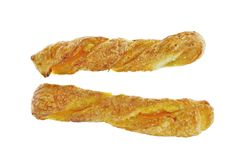 Two bread stick pineapple Royalty Free Stock Photo