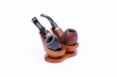 Holmes and Watson pipes Royalty Free Stock Photography