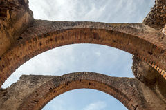 Two brick arches Royalty Free Stock Photography