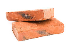 Two bricks Royalty Free Stock Image