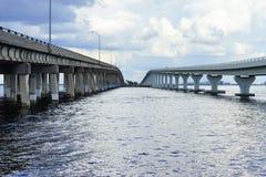 Two bridges Royalty Free Stock Photos