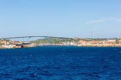 Two Bridges on Curacao Stock Photography