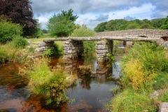 Two Bridges in Dartmoor, Devon UK. Two Bridges in Dartmoor, Devon, UK royalty free stock images