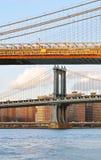 Two bridges. Royalty Free Stock Image