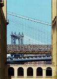 Two Bridges New York USA Royalty Free Stock Photos
