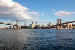 Two Bridges Royalty Free Stock Photography