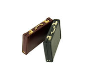 Two Briefcases Royalty Free Stock Photo