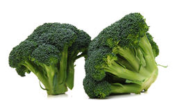 Two broccoli Stock Photos