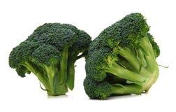 Two broccoli Stock Photos