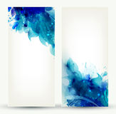 Two Brochure backgrounds Stock Photography