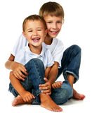 Two brother Stock Images