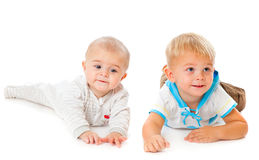 Two brothers Stock Photography