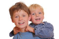 Two brothers Royalty Free Stock Photography