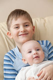 Two brothers. Royalty Free Stock Photography