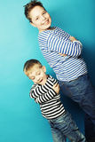Two brothers, Royalty Free Stock Photos