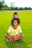 Two brothers. Royalty Free Stock Images