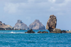 Two Brothers Fernando de Noronha Island Royalty Free Stock Photo