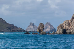 Two Brothers Fernando de Noronha Island Stock Photography