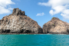 Two Brothers Fernando de Noronha Island Stock Images
