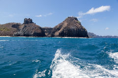 Two Brothers Fernando de Noronha Island royalty free stock photography