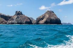 Two Brothers Fernando de Noronha Island Stock Image
