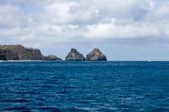 Two Brothers Fernando de Noronha Island Stock Photography