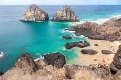 Two Brothers Fernando de Noronha Island Royalty Free Stock Photography