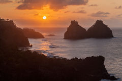 Two Brothers Fernando de Noronha Island Royalty Free Stock Image