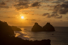 Two Brothers Fernando de Noronha Island Royalty Free Stock Images
