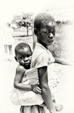 Two brothers from Ghana Stock Images