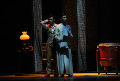 The two brothers-The second act of dance drama-Shawan events of the past Stock Images