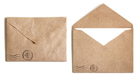 Free Two Brown Envelope Stock Images - 33642034