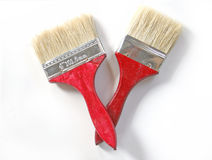Two brushes Stock Photos