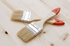 Two brushes Stock Photo