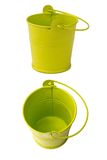 Two buckets stock images