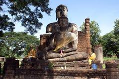 Two Buddhas Stock Photo