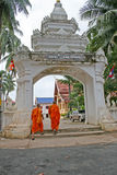 Two Buddhist Monks Stock Image