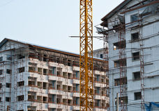Building under contruction Stock Photo