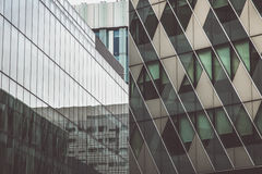 Two buildings in Manchester. Wiev Stock Photography