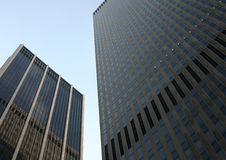 Two buildings in New York Royalty Free Stock Photography