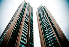 Two Buildings Royalty Free Stock Photo