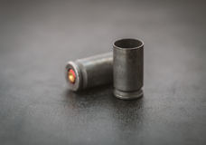 Two bullets. Stock Images