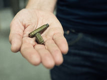 Two Bullets Stock Images