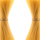 Two bundles of spaghetti Stock Photography