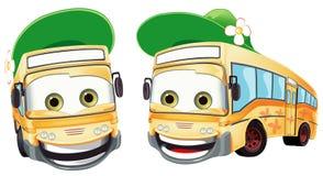 Two bus Royalty Free Stock Photos
